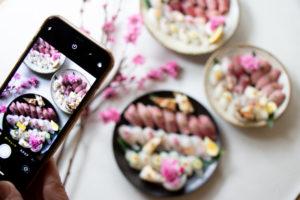 春の握り寿司レッスンの内容