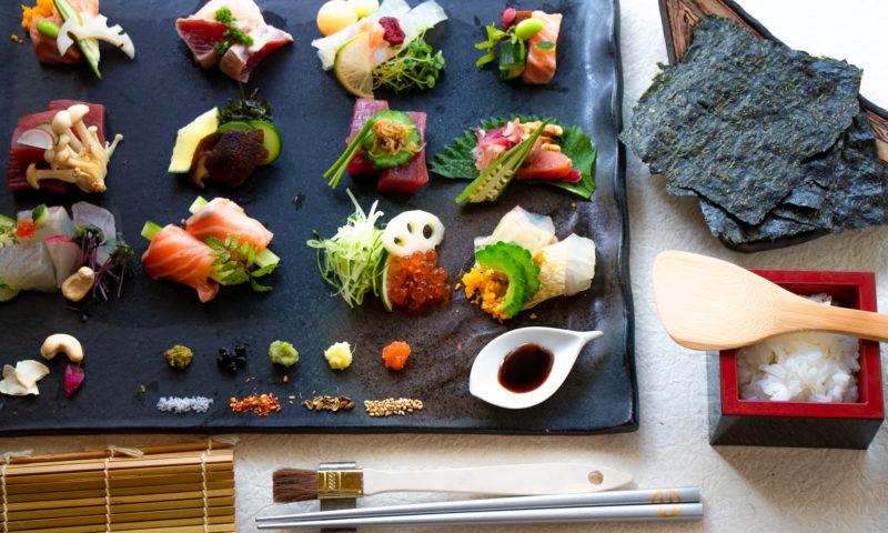 かわいい手巻き寿司